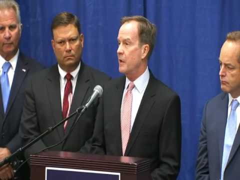 Attorney General Schuette announcing more criminal charges in Flint water case