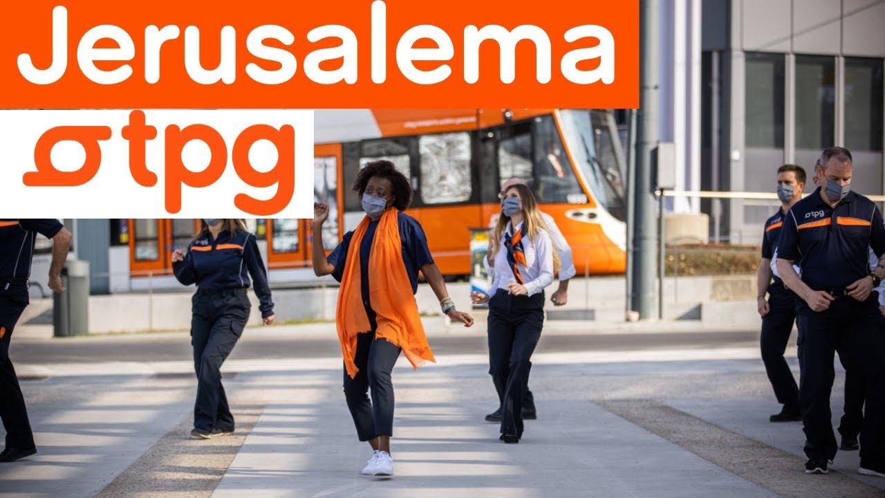 Jerusalema Dance Challenge | tpg - transports publics genevois