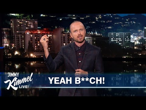 Crisis Crew - Watch Aaron Paul Recap 'Breaking Bad' in Two Minutes!