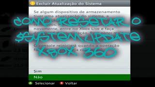 Como Resetar o System Update Xbox 360