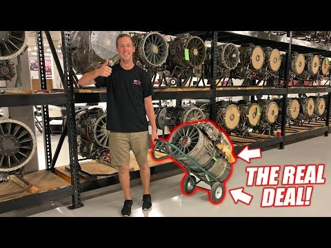 WE'RE BUYING A REAL JET ENGINE... The Quest for a 'Street Legal' Jet Car!
