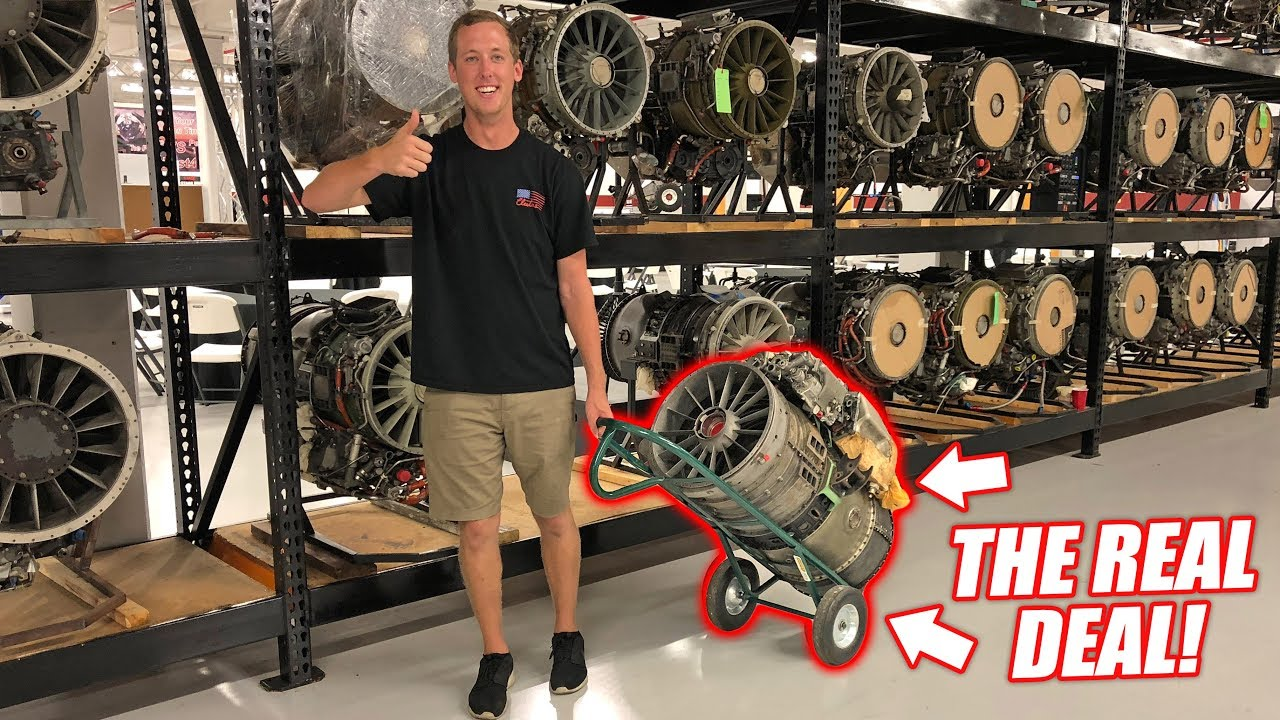 We Re Buying A Real Jet Engine The Quest For A Street