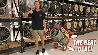 "WE'RE BUYING A REAL JET ENGINE... The Quest for a ""Street Legal"" Jet Car!"