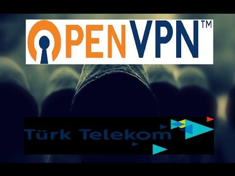 OpenVPN ile ROOTSUZ Sınırsız Bedava İnternet