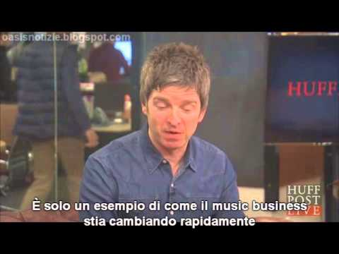 [sottot. ITA] Noel Gallagher HuffPost videochat (complete 30 min)