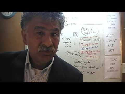 Teas 6 Practice Test 3 P99 Study Manual Math Day 169