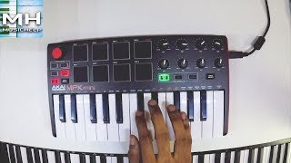 Martin Garrix & Blinders - Breach Cover (Akai MPK Mini)
