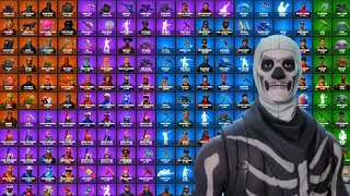 $4000 Rarest Fortnite Account! 100+ Unique Skins!