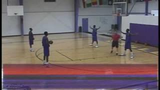Girls Basketball Peripheral Vision Training Drill