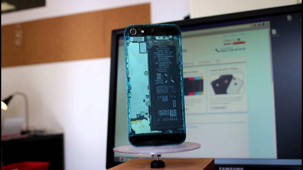 Captivating IPhone 5 Umbau Backcover Durchsichtig Von Der IPhone Garage