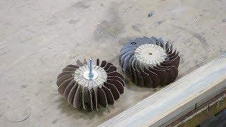Шлифовальный лепестковый диск своими руками