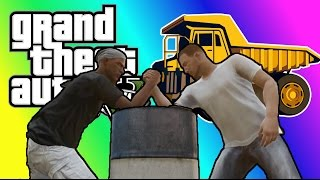 VanossGaming - Vanoss GTA 5 [Compilation Part 25] Arm Wrestling, Dump Truck