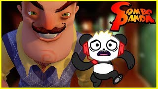 Scary Hello Neighbor Challenge! Let's Play with Combo Panda! thumbnail