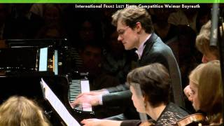Sergey Sobolev plays Piano Concerto No. 2 by Franz Liszt - Piano Competition Finale