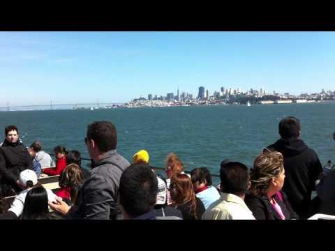 Un poco de turismo: vistas del Golden Gate y San Francisco desde la misma bahía #aio13