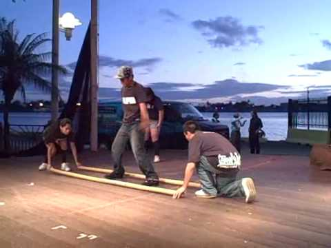 Hip Hop & Modern Tinikling at Aloha Tower