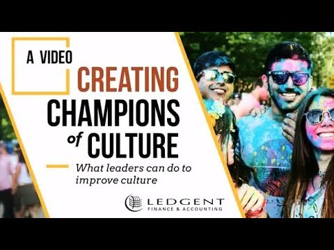 Championing Workplace Culture - Ledgent Finance & Accounting