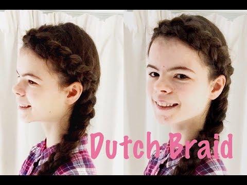 DIY Dutch Braid Hairstyle: How to Braid a Dutch Side Braid