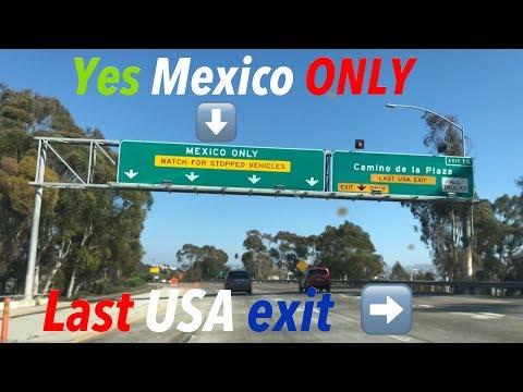 Drive to Tijuana from San Diego