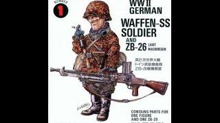 "Fine Molds Build ""Waffen SS German soldier"" part 2"