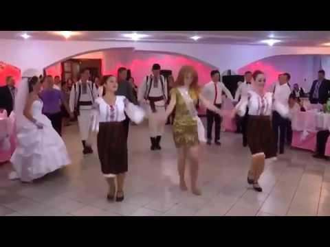 Молдавские танцы на молдавской свадьбе