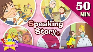 Download Speaking Story | 50 minutes Kids cartoon Dialogues | Easy conversation | Learn English for Kids Mp3 and Videos