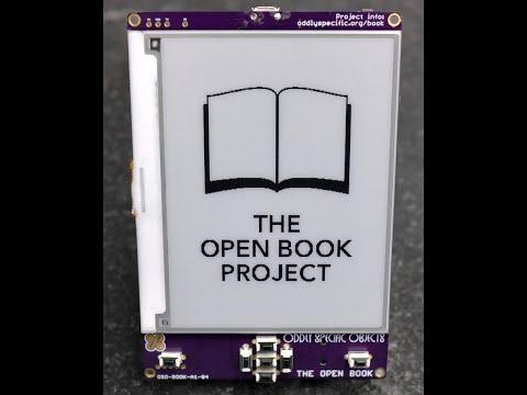 The Open Book: An Open Hardware E-Book Reader