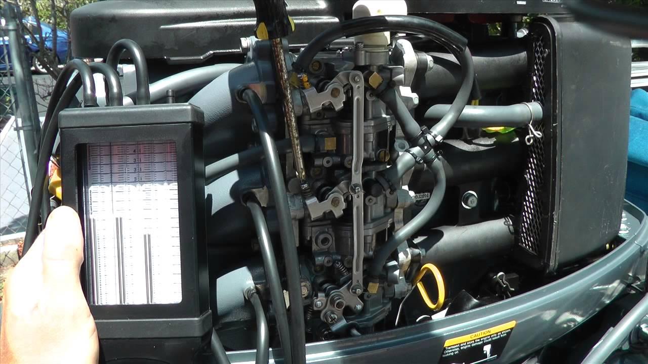 How to balancesynchronize outboard motor carburetors