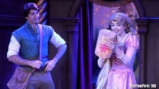 [HD] FULL Up-Close Tangled Show - Real Life Tangled Show - Disneyland