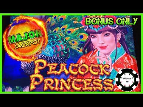 ?DRAGON LINK PEACOCK PRINCESS HANDPAY & MAJOR JACKPOT?BONUS ROUNDS ONLY - 동영상