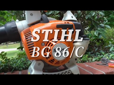 how to change a pull cord on a stihl chainsaw