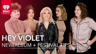 Hey Violet 'From the Outside' + 5 Festival Tips | Exclusive Interview