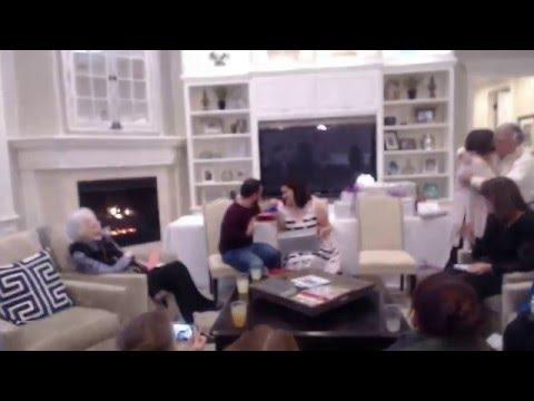 Vara live streaming: Kim & Sam's wedding shower. Bonifay, Florida Jan. 09, 2015