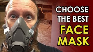 Best Fiberglass Insulation Respirator Mask | Crawl Space Insulation Mask | Crawl Space Ninja Safety