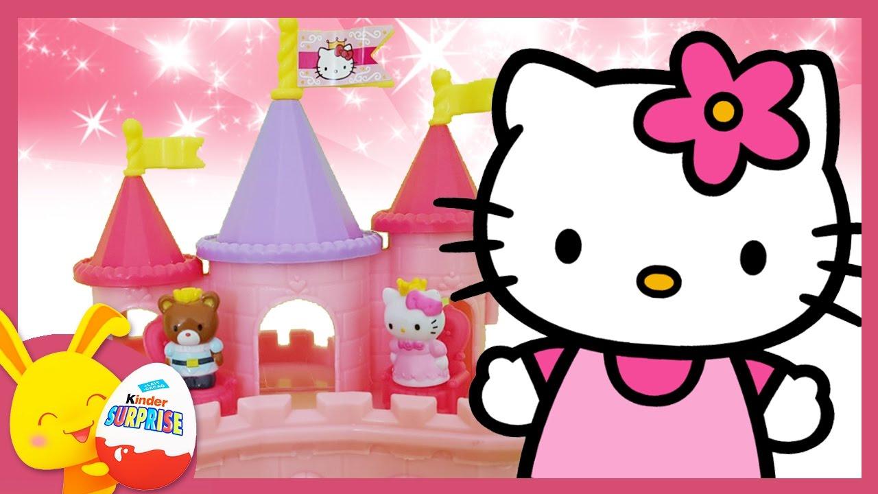 Chateau De La Princesse Hello Kitty Et De Son Prince Histoire De
