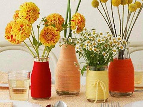 Своими руками ваза из 3-х литровой банки