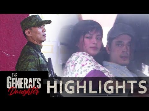 Franco and Rhian pretend to be husband and wife | The General's Daughter