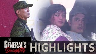 Franco and Rhian pretend to be husband and wife   The General's Daughter (With Eng Subs)