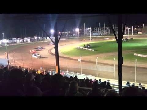 Upper Iowa Speedway - Hobby Stocks 4/23/16