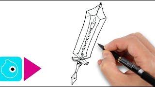 5 dessins faciles à faire #2 - dessiner des épées magiques - Objets légendaires et sacrés