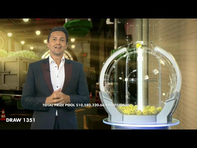 Oz Lotto Results Draw 1351 | Tuesday, 7 January 2020 | the Lott