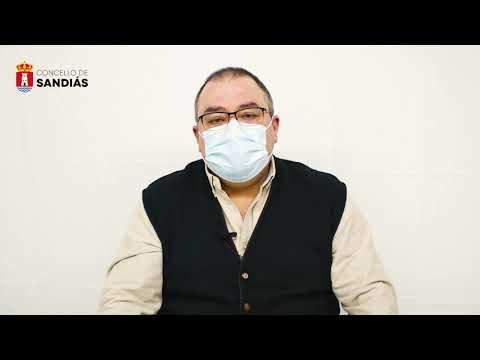 Mensaxe do alcalde respecto á situación epidemiolóxica - Concello de Sandiás