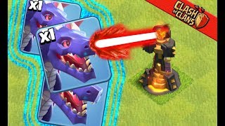 TRYING DRAGONS AT Townhall 10 LIKE... ▶️ Clash of Clans ◀️ ...NOT A FAN.