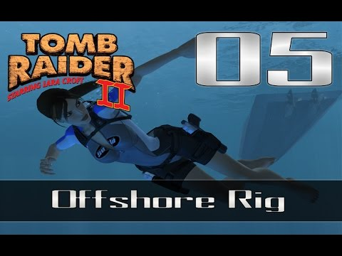 Tomb Raider 2 HD Complete Walkthrough - 05 - Offshore Rig (Commentato STRANO)