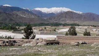 Afghans react to US strike