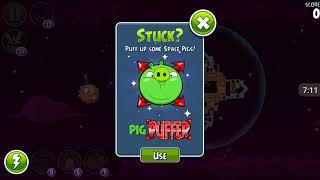 Прохождение Angry Birds Space #17 [Планета Brass Hogs *1]