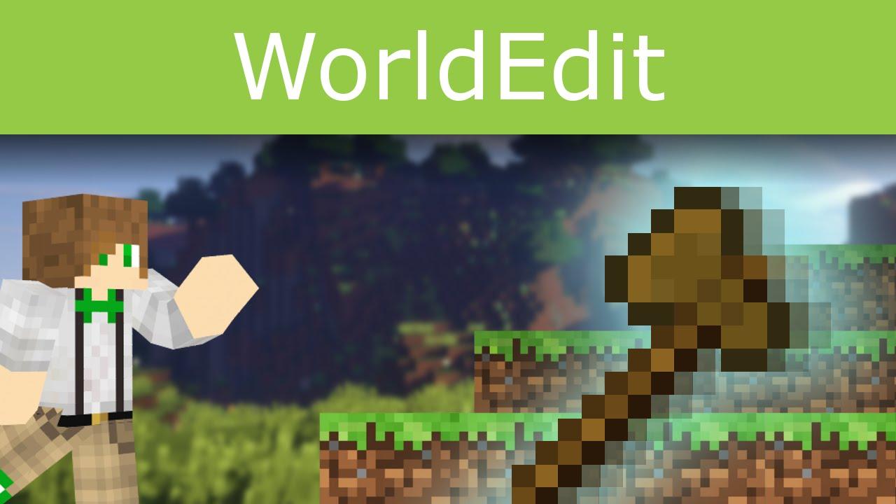 ... krajobraz na serwerze Minecraft? - ciekawe funkcje WorldEdit - YouTube