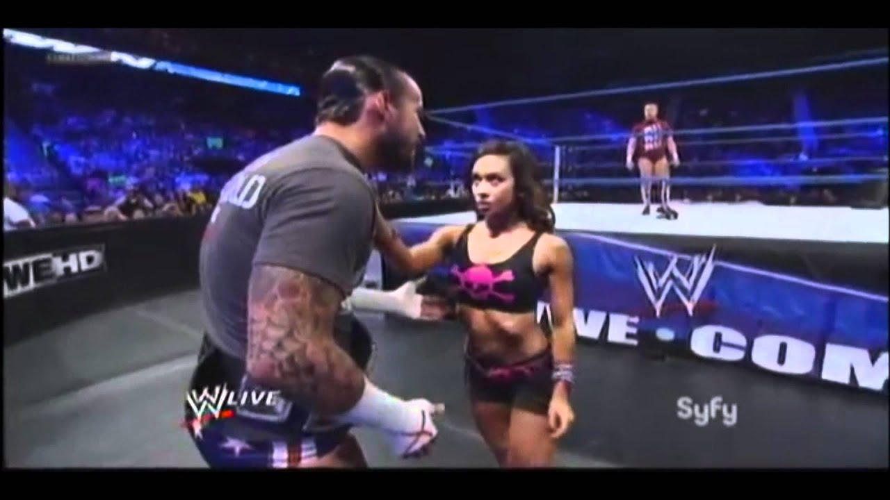 aj lee wwe hot sex and kiss