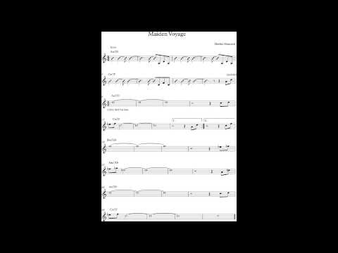 Maiden Voyage - Jam Track (no melody)