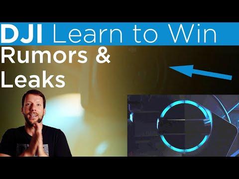 DJI Learn To Win - Launch Event RUMORS & LEAKS [4K]